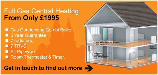 Full Gas Central Heating from only �1995